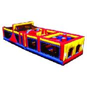 40' Mega Challenge 2 Piece Obstacle