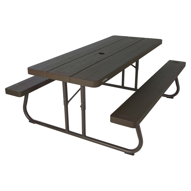 6 foot Picnic Table-Brown