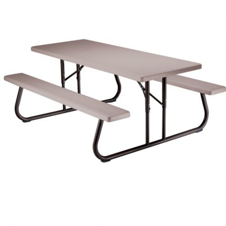 6 foot Picnic Table-Grey