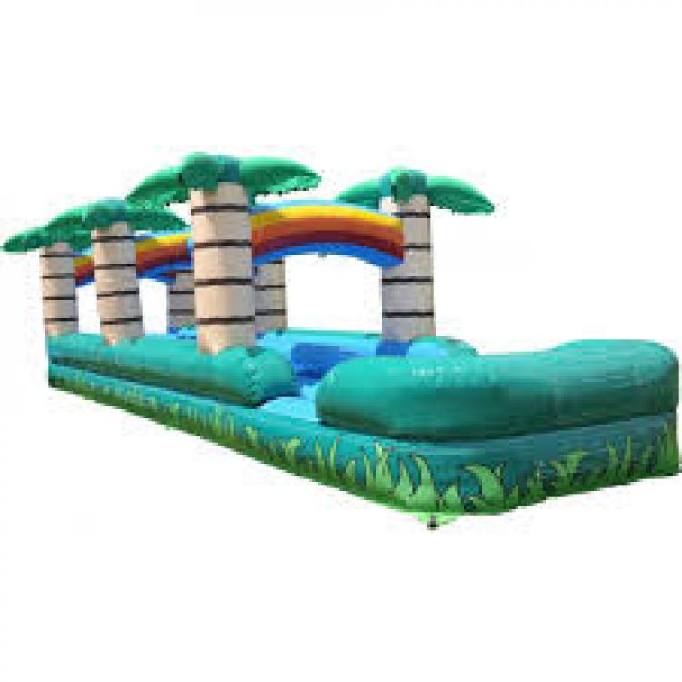 35' double lane tropical slip n slide